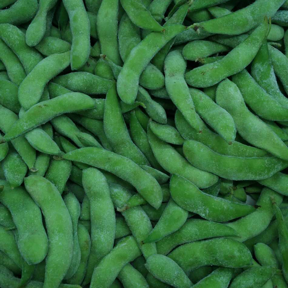 Замороженная зеленая эдамамовая щетка хорошего качества