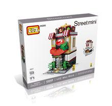 LOZ блоки милые мини уличный магазин детские развивающие игрушки маленький магазин brinquedos Модели Строительные кирпичи подарки для девочек ...(Китай)