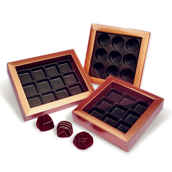 custom Novelty Chocolate Packaging Plastic Vacuum Forming Tray