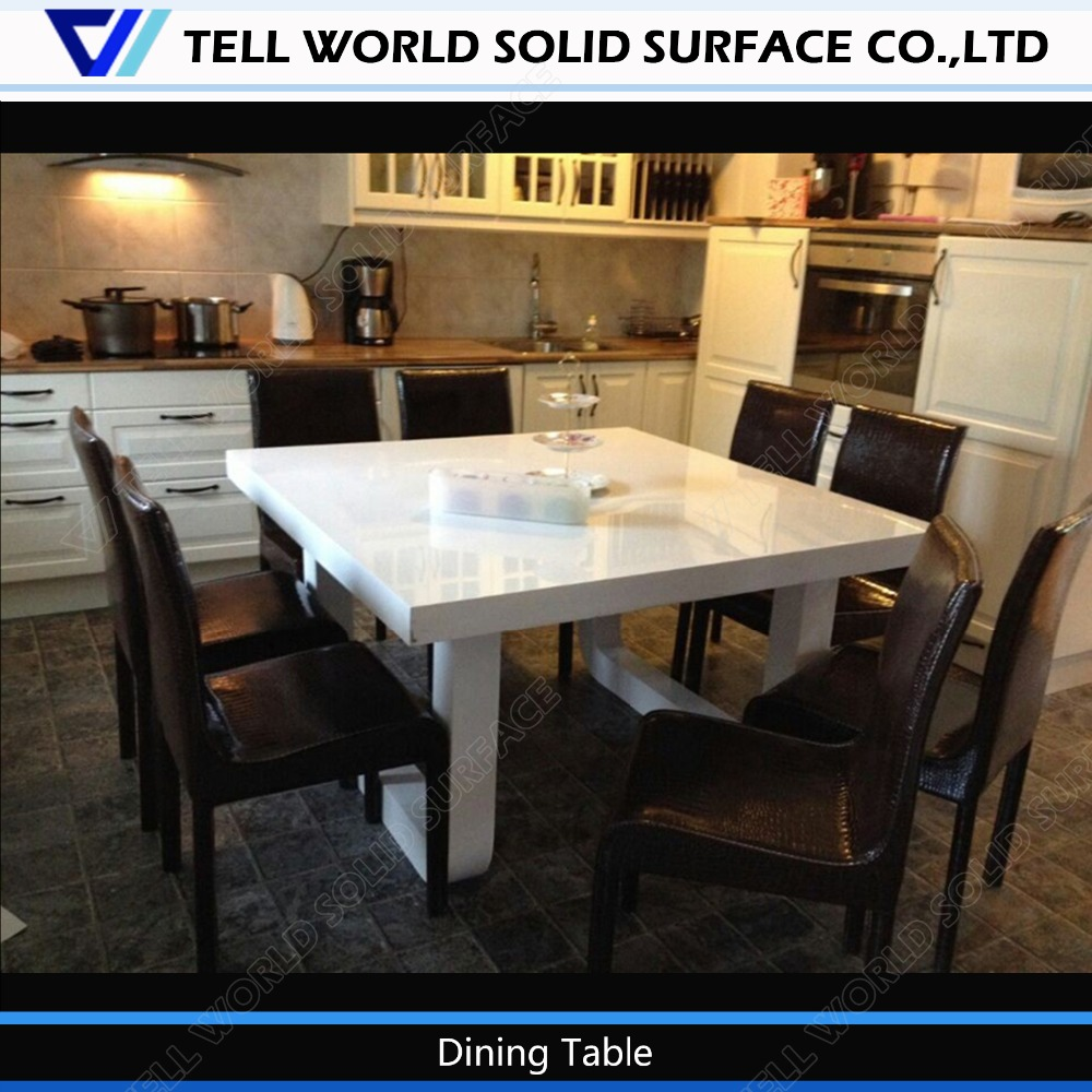 Pure White Artificial Marble 8 Seats Dining Table New Arrival Dining Table Buy 8 Seats Dining Table Pure White Artificial Dining Table 8 Seater Marble Dining Table Product On Alibaba Com