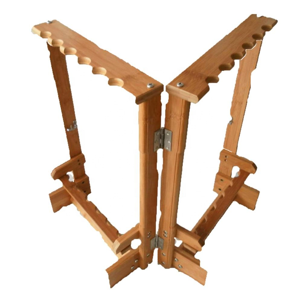 Rod stand for up to 13 Rods//Wood