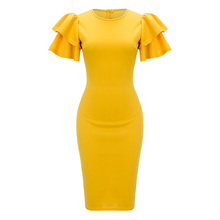 db137638d00b9 Buy yellow summer dress and get free shipping on AliExpress.com