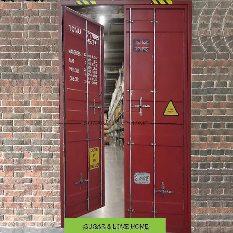 industrial furniture, bar furniture, shipping container door, metal door with customized size and color