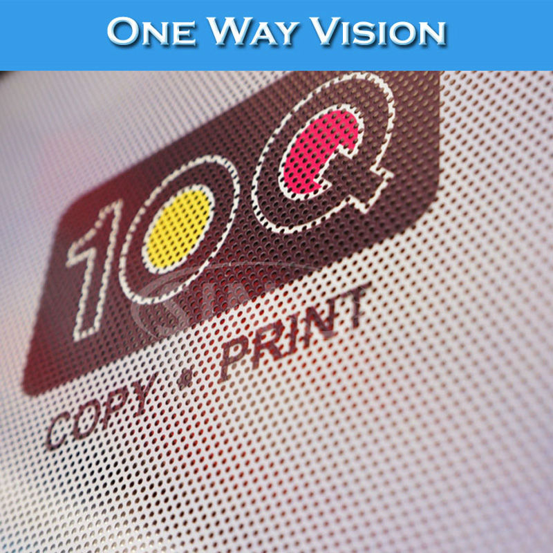 Popular One Way Vision Window Film Printed Buy Cheap One