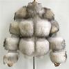 WHITE racdoon fur
