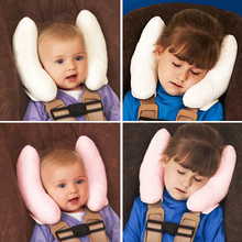 Useful Cushion Head Neck Rest Pillow for Car / Baby Buggy, Comfortable Headrest Neck Seat Covers, for Children Kids Protection