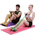 Resistant Band Pedal Exerciser Body Trimmer Sit ups Elastic Resistance Band Rubber Training ABS Workout Home