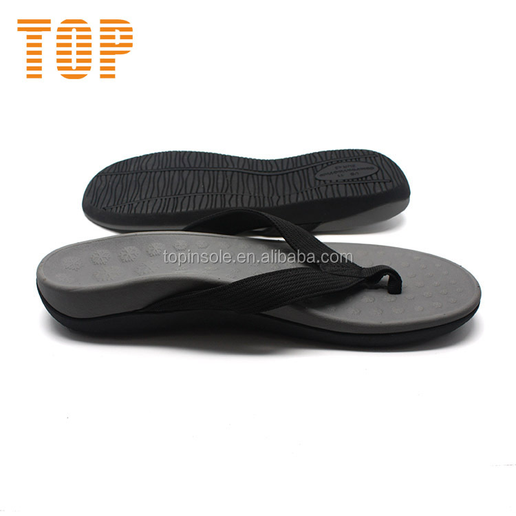 High arch support orthopedic slippers for flat feet