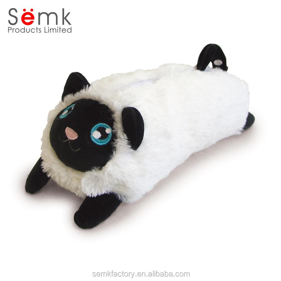 Оптовая продажа, милый школьный пенал в форме кошки для детей