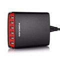 Poweradd 40W 8A 5 Port USB Charger Desktop Station with Smart Charge USB Enabled Devices USB