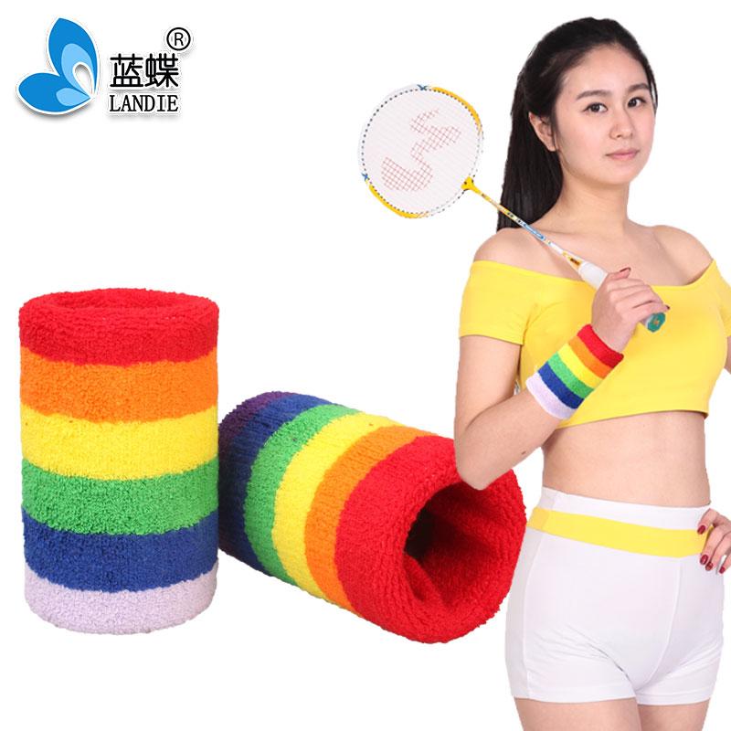 2019 Custom Knitted Wristband Wrist Sweatbands for Sports