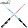 68CM Star Wars Kylo Ren lightsaber model toy 2017 New star wars Telescopic lightsaber with light