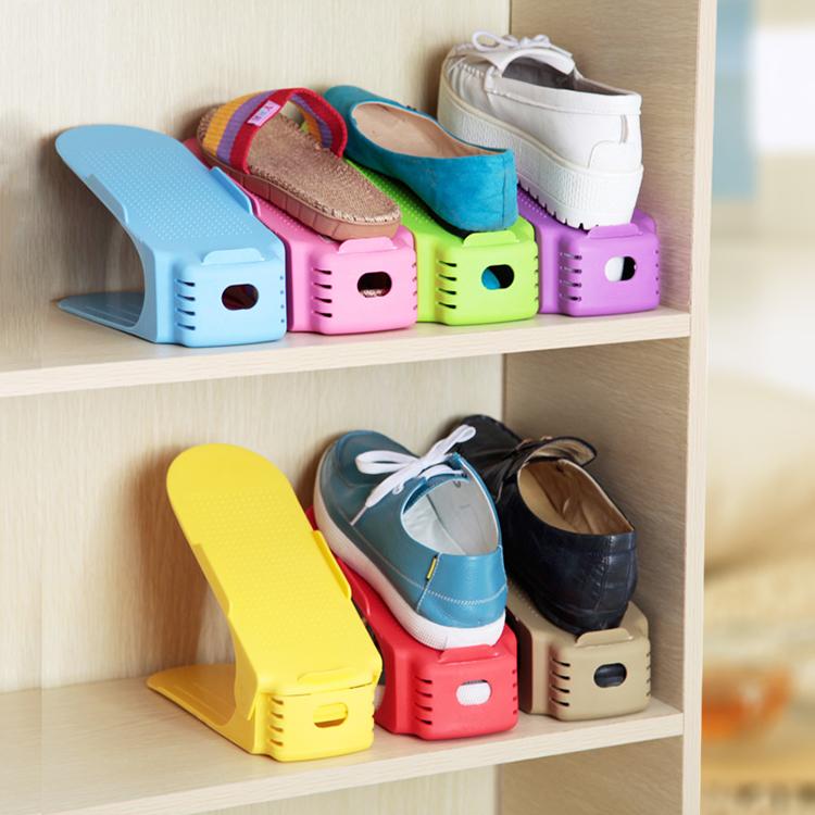 2021 прочный регулируемый органайзер для обуви, держатель для обуви, экономия места в шкафу, в шкафу, на стойке, полка для хранения обуви, коробка для обуви