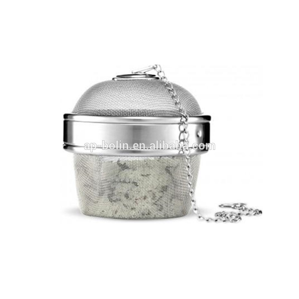 Extra Large 3.5inch diameter Stainless Steel Spice Ball Herb Infuser & Cooking Infuser