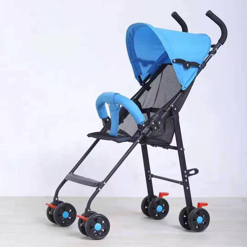 Популярная фабричная Прямая цена, детская коляска, очень простая детская коляска, OEM