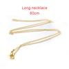 Long necklace,80cm