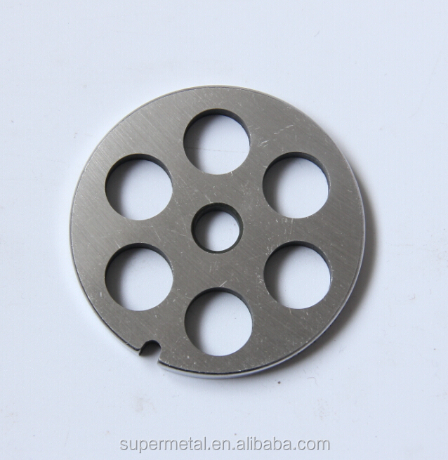 #8 Stainless Steel Meat grinder plate without hub