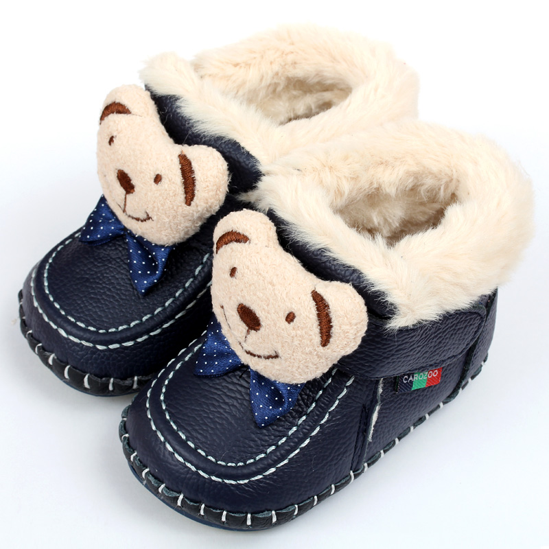 63cfb7ca9 Animal Super Warm Winter Baby Boots Baby Boots Soft Leather Baby Shoes  Moccasins Infant Kids Girls Boys First Walkers Shoes
