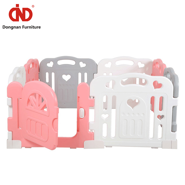 Adjustable Non-toxic Colorful Safety Plastic Retractable Baby Safety Fence /Baby Play Fence