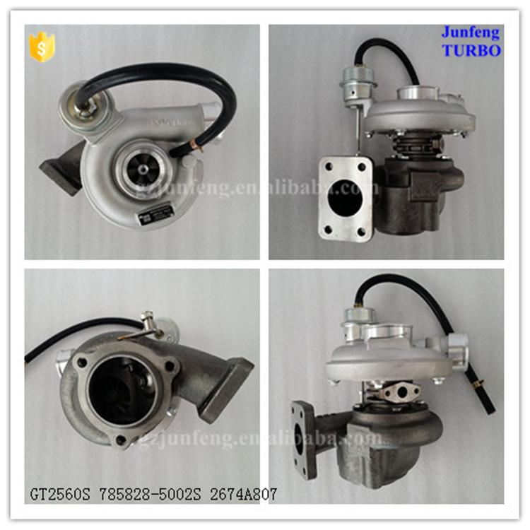 New Perkins 4.0L T4.40 Garrett 785828-5002S Turbocharger