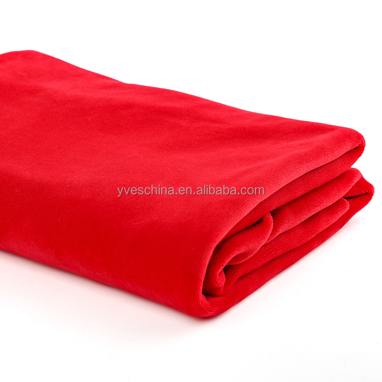 Factory wholesale high quality 100%polyester super soft interlock fabric for cloth
