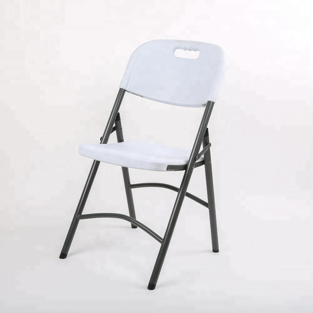 wholesale price plastic used folding chair for parties