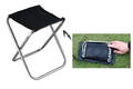New Super Light Portable Folding Chair Lightweight Aluminium Alloy Fishing Square Sketchbook Camping Picnic BBQ Beach