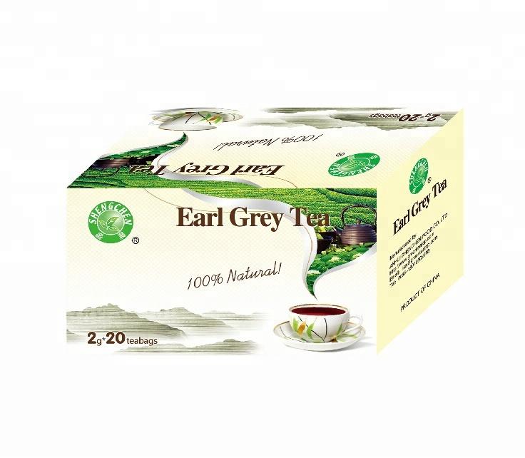 Packing Method 20 Filter Tea Bags N.T 50g Private Label Black Earl Grey Tea - 4uTea | 4uTea.com