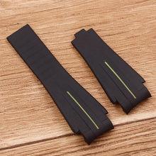 Аксессуары для часов, резиновый ремешок для часов, применимый для часов, ремешок для часов, 20 мм, 21 мм(Китай)