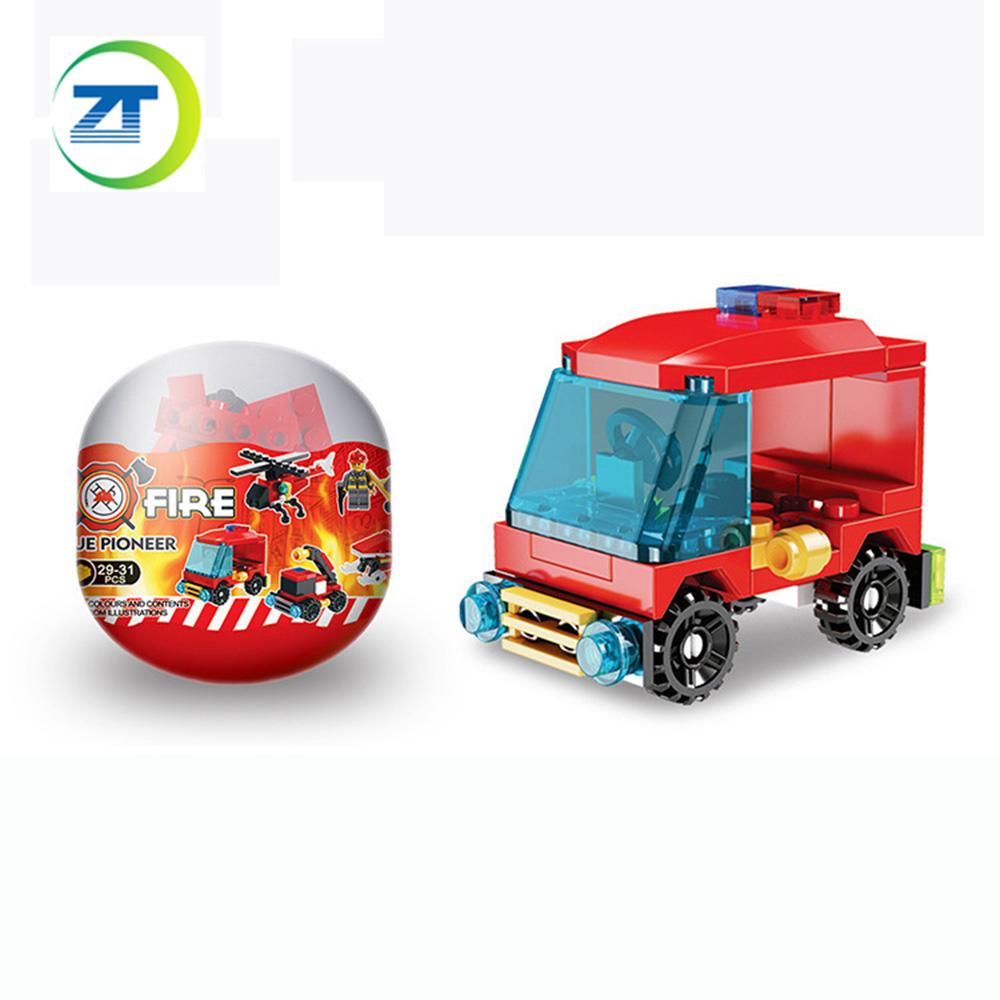Популярный товар, Капсульная игрушка-яйцо, сборный мини-строительный блок, капсульные игрушки для торгового автомата