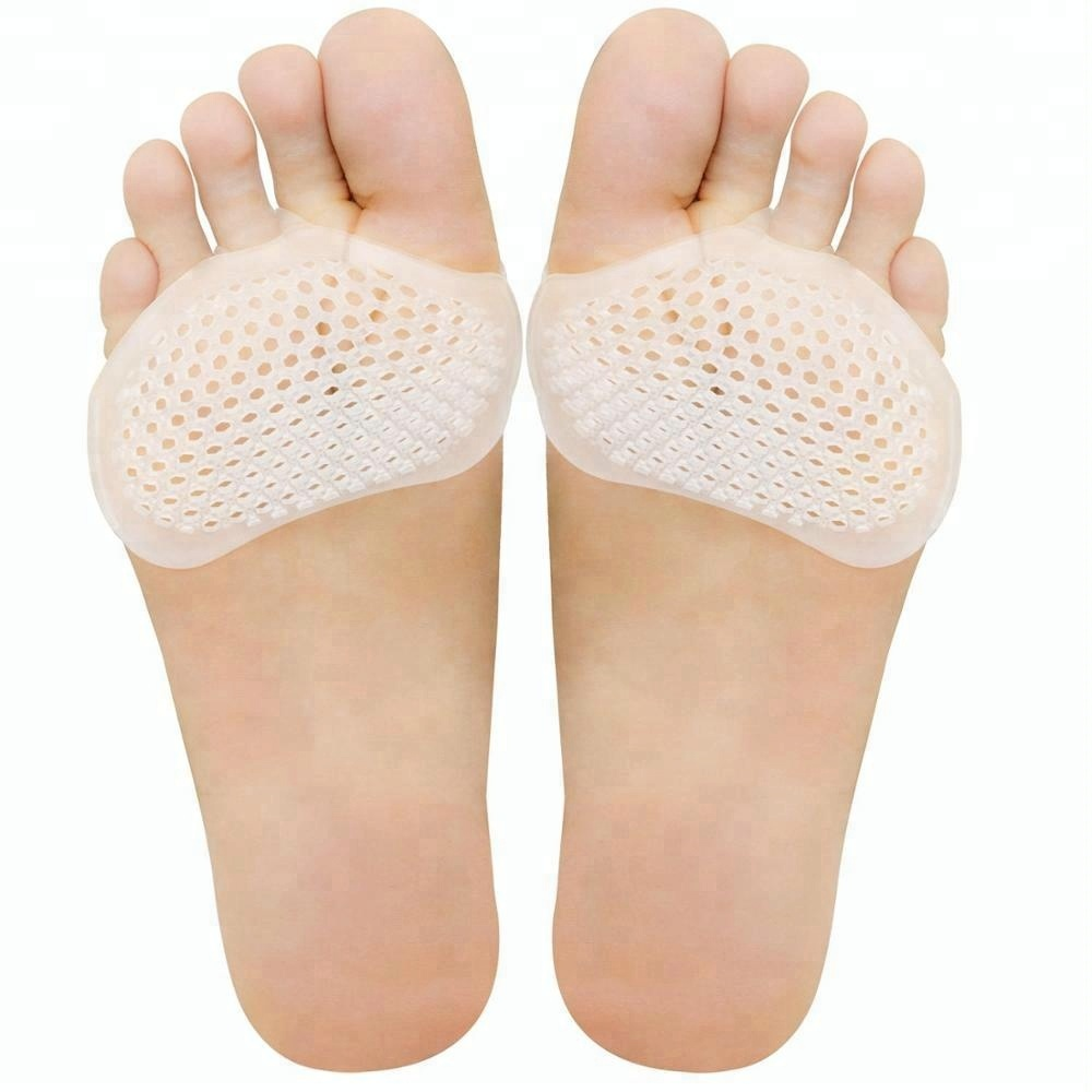 1 пара Мягкий гелеобразный чехол вкладыш в геленочно-пучковую часть, забота о ногах, обезболивающая передней части стопы подушка