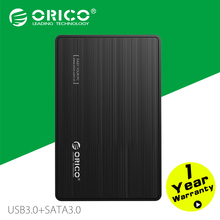 "ORICO 2588S3-BK High-Speed Enabled Tool Free USB3.0 2.5"" SATA3.0 HDD Enclosure"