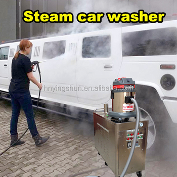 CE 200 bar hot water industrial ,50 bar steam cleaning machine, vapor steam cleaner for tile floors