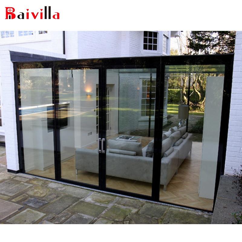 Бренд Baivilla, высокое качество, алюминиевая рама, стекло, садовая комната, стеклянный дом, алюминиевый Садовый дом