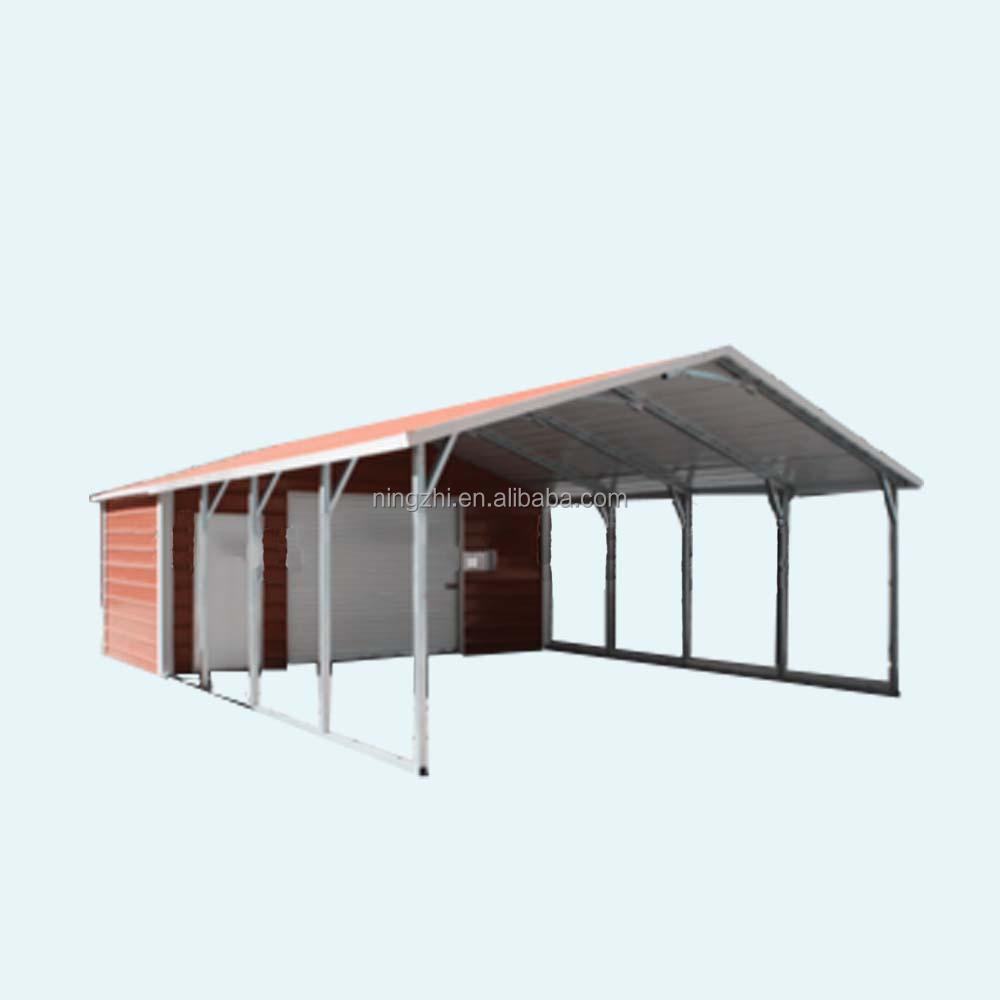 Metal Carport With Storage Room Buy Steel Workshops China Steel Carport Kits Manufacturer Metal Carport With Storage Room Product On Alibaba Com