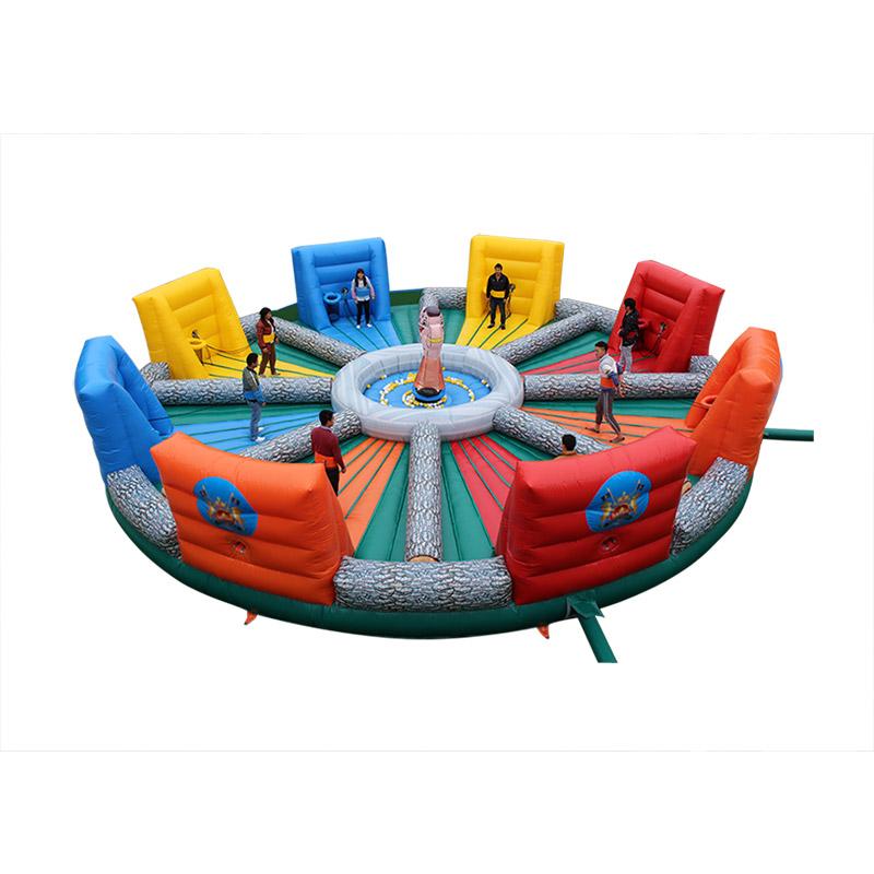 Популярная интерактивная игра bungees беговые виды спорта голодный Бегемот чокер надувная игра для взрослых и детей