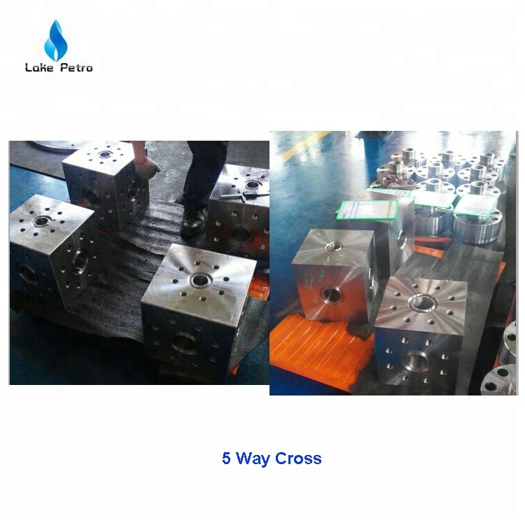 API 6A Crosses and Tees Studded Blocks
