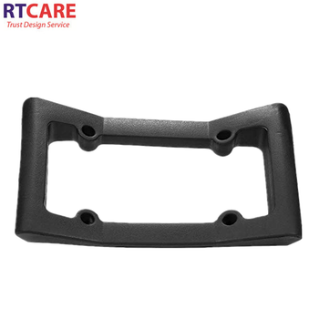 Flexible Rubber Front Bumper Protection EVA Car Licence Plate Number Frame License