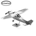 Cessna Eagle military model 3D puzzle DIY metal jigsaw free shipping best birthday gift for kids
