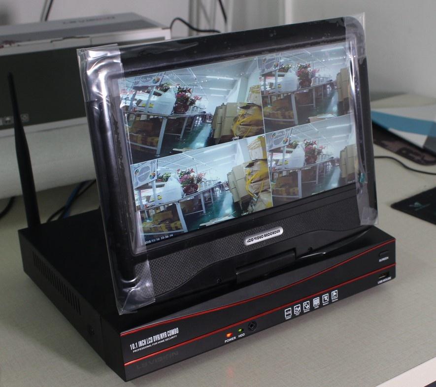 LSVISION 4CH 960P 1.3MP Wireless CCTV IP Camera 10