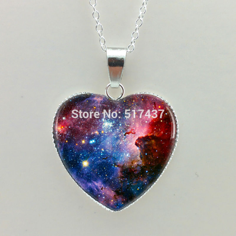 Aliexpress.com : Buy Silver heart shaped necklaces Geek ...