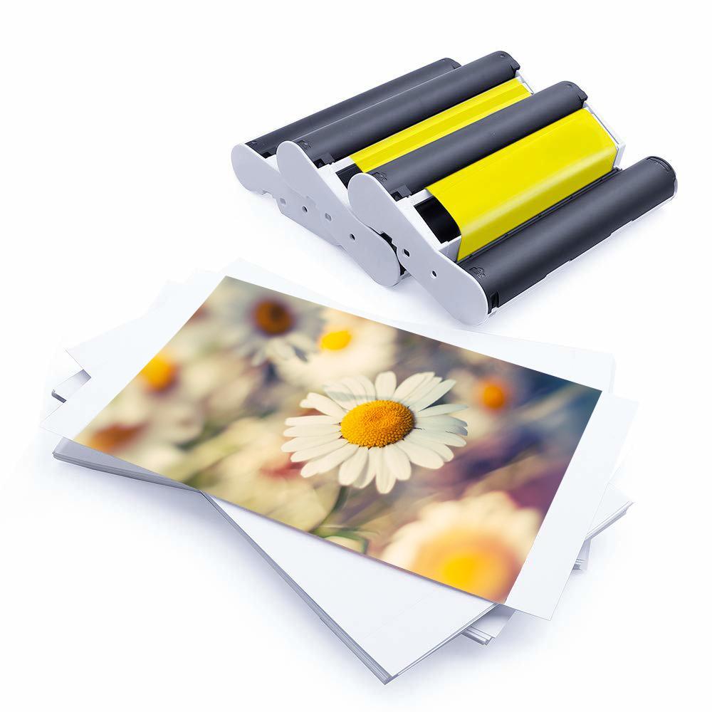 Высококачественная фотобумага PUTY matte 4x6 PT-108IN Selphy Cp1200 фотобумага 4x6 для Canon