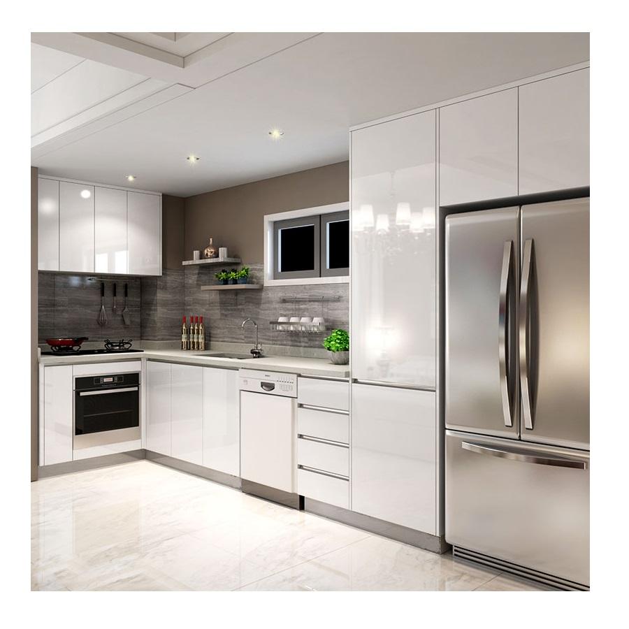 White High Gloss Lacquer L Shape Modular Small Kitchen Unit Cabinet Designs Buy Modular Kitchen Designs Lacquer Kitchen Cabinet Kitchen Unit Product On Alibaba Com