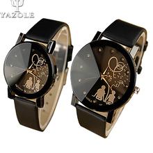 Famosa Marca Amantes Dos Desenhos Animados do Relógio Das Senhoras Das Mulheres Meninas Homens Dos Desenhos Animados do Relógio-relógio de Quartzo-relógio Feminino Montre Femme Relogio Feminino