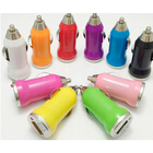 Popular phone accesory usb car charger 5v1a 5v1.5a available