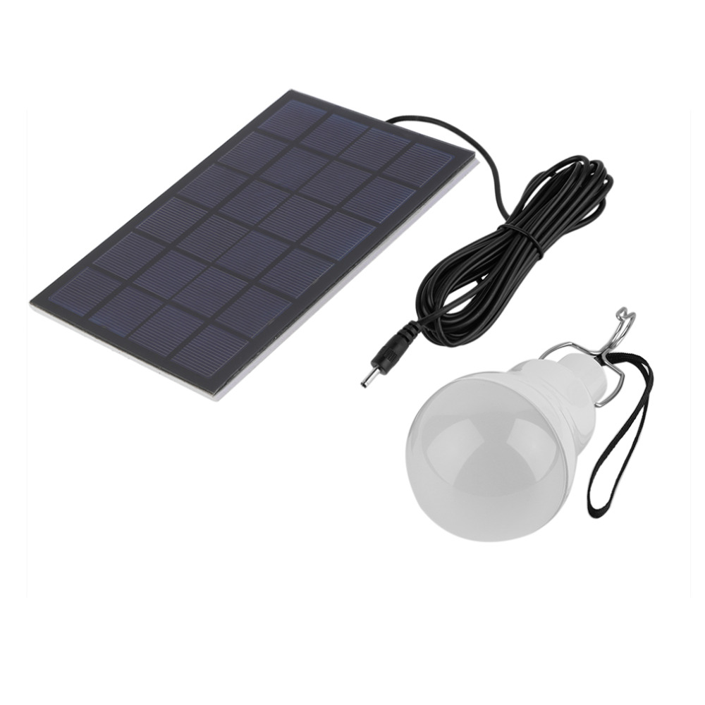 Solar Panel At Nightfall Outdoor Garden Solar Lights Circuit Solar