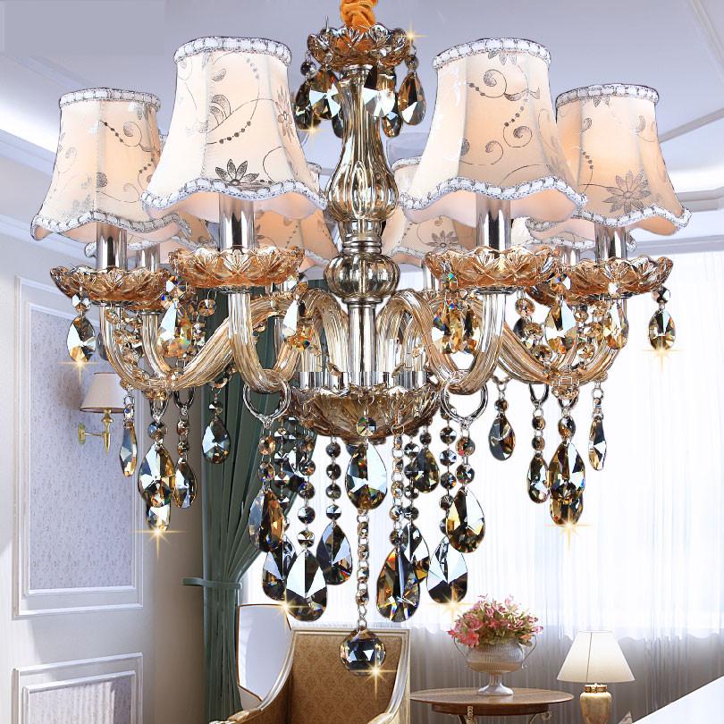 modern chandelier lighting k9 lustres de cristal moderne. Black Bedroom Furniture Sets. Home Design Ideas