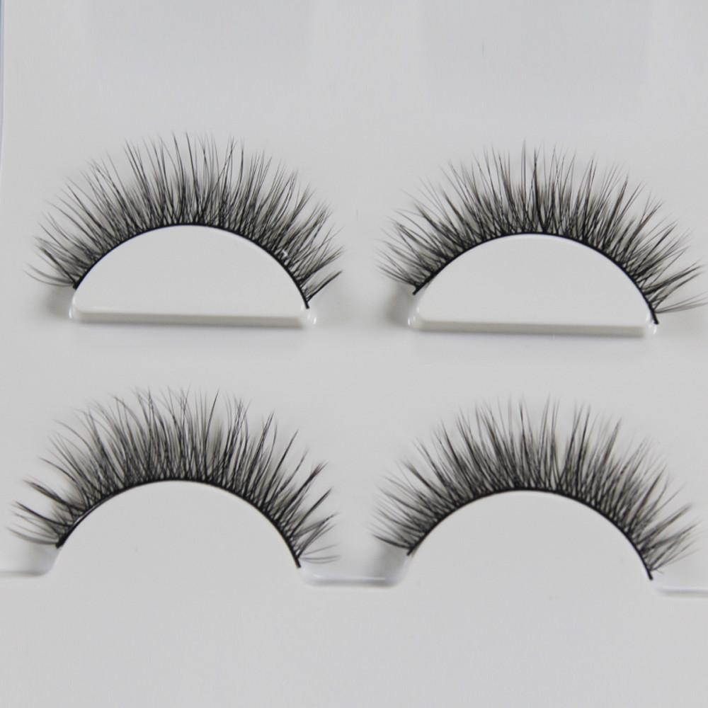 3 Pairs 3D Long False Eyelashes Makeup Natural Fake Thick Black Eye Lashes mink eyelashes natural maquiagem 50* - AliExpress - 11.11_Double 11_Singles Day - 웹