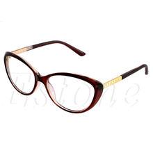 Сексуальные женские очки оправа модные кошачьи прозрачные линзы женские очки для глаз(Китай)