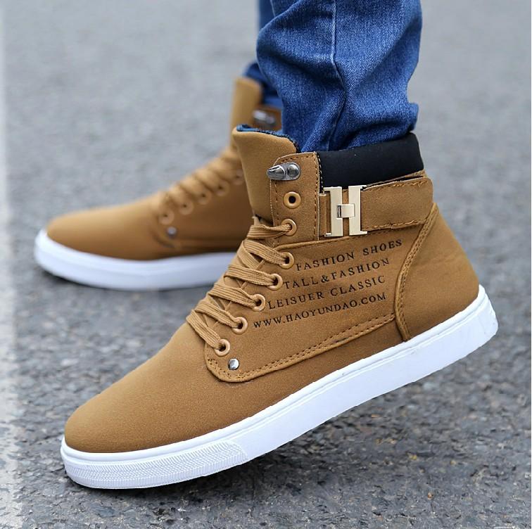 8b93cd7055 Men Shoes Sapatos Tenis Masculino Male Fashion Spring Autumn Leather ...